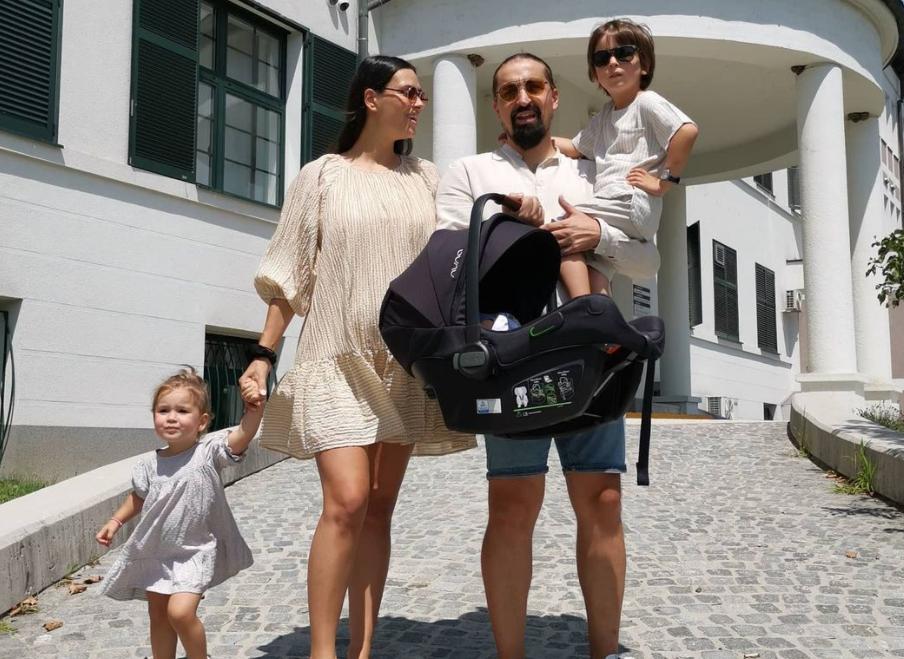 NAŠ ČOPOR JE JAČI ZA JOŠ JEDNOG VUKA: Vladimir Arsić Arsa dobio treće dete (FOTO)